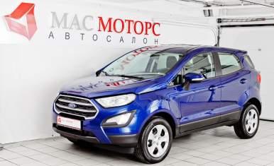 Ford EcoSport Синий